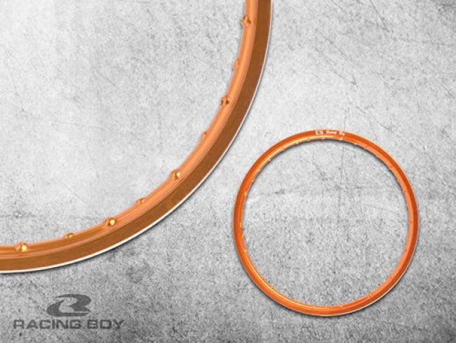 Alloy Rim - Orange