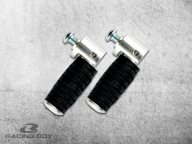 FOOTSTEP - ALLOY PEDAL WITH RUBBER (FOLD)